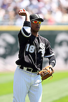 August 15 2008:  Shortstop Orlando Cabrera of the Chicago White Sox during a game at U.S. Cellular Field in Chicago, IL.  Photo by:  Mike Janes/Four Seam Images