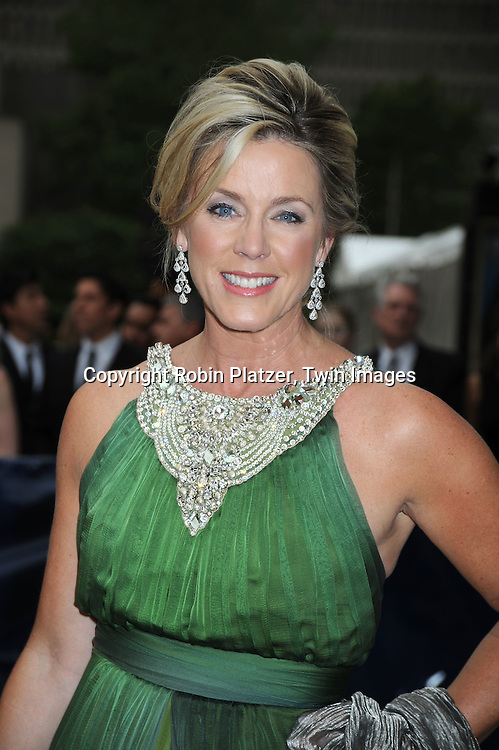 Deborah Norville in Naem Khan dress arriving at The American Ballet Theatre's 70th Anniversay Season at their Spring Gala on May 17, 2010 at The Metropolitan Opera House in New York City.