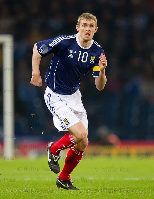 Darren Fletcher, Scotland