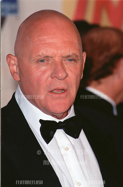 09OCT99: Actor ANTHONY HOPKINS at the 1999 American Cinematheque Moving Picture Ball at which actress/director Jodie Foster was honored..© Paul Smith / Featureflash