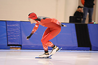 SPEEDSKATING: SALT LAKE CITY: 06-12-2017, Utah Olympic Oval, ISU World Cup, training, Oliver Grob (SUI), photo Martin de Jong