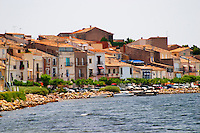 Bouzigues Languedoc. France. Europe.