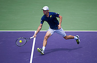 DAVID GOFFIN (BEL)<br /> <br /> MIAMI OPEN, CRANDON PARK, KEY BISCAYNE, MIAMI, FLORIDA, USA<br /> <br /> &copy; AMN IMAGES