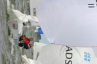 20th SPA Regatta - Medemblik.26-30 May 2004..Copyright free image for editorial use. Please credit Peter Bentley..Shirley Robertson - GBR