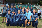 St Hilda's Collegiate. The 2017 New Zealand Secondary Schools 1st XI NZCT girls' cricket national finals at Fitzherbert Park in Palmerston North, New Zealand on Sunday, 3 December 2017. Photo: Dave Lintott / lintottphoto.co.nz