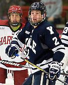 Gus Young (Yale - 2) - The Yale University Bulldogs defeated the Harvard University Crimson 5-1 on Saturday, November 3, 2012, at Bright Hockey Center in Boston, Massachusetts.