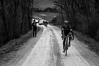Not a great day for Greg Van Avermaet (BEL/BMC) as the ambitious belgian will never play any significant part in todays race.<br /> <br /> 12th Strade Bianche 2018<br /> Siena &gt; Siena: 184km (ITALY)