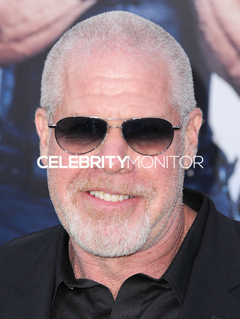 HOLLYWOOD, LOS ANGELES, CA, USA - AUGUST 11: Ron Perlman at the Los Angeles Premiere Of Lionsgate Films' 'The Expendables 3' held at the TCL Chinese Theatre on August 11, 2014 in Hollywood, Los Angeles, California, United States. (Photo by Xavier Collin/Celebrity Monitor)