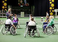 14-02-13, Tennis, Rotterdam, ABNAMROWTT, Wheelchair experience