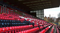 A general view of Sincil Bank, home of Lincoln City FC<br /> <br /> Photographer Andrew Vaughan/CameraSport<br /> <br /> The EFL Sky Bet League Two - Lincoln City v Port Vale - Tuesday 1st January 2019 - Sincil Bank - Lincoln<br /> <br /> World Copyright &copy; 2019 CameraSport. All rights reserved. 43 Linden Ave. Countesthorpe. Leicester. England. LE8 5PG - Tel: +44 (0) 116 277 4147 - admin@camerasport.com - www.camerasport.com