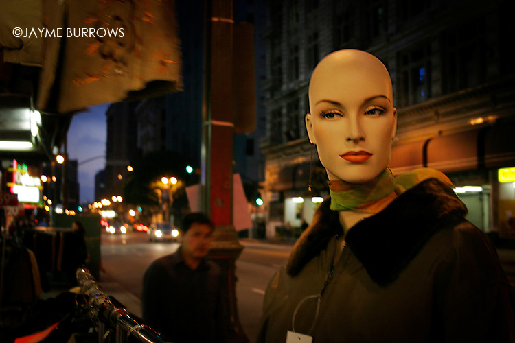 Street scene in Los Angeles, CA.