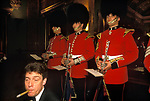 City of London. 1992<br /> At the  Fishmonger Hall an annual  banquet takes place for the fish trade. The Fishmongers' Company is one of the Twelve Great Livery Companies of the City of London.<br /> <br /> Coldstreams Guards Regimental Band