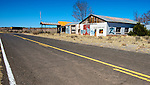 An Abandoned Dream and a deadend of Route 66 in Arizona.