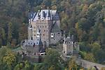 Burg Eltz Castle above the Mosel River Valley, France