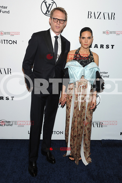 NEW YORK, NY - NOVEMBER 30: Jennifer Connelly and Paul Bettany at the Lincoln Center Corporate Fund Gala at Alice Tully Hall in New York City on November 30, 2017. Credit: John Palmer/MediaPunch NortePhoto.com. NORTEPHOTOMEXICO