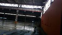 2020 04 16  Headline: Transformation of 1950s industrial unit into a hospital in Swansea, Wales, UK