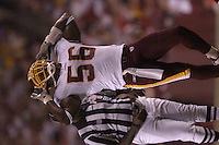 26 August 2005:  LaVar Arrington.<br />