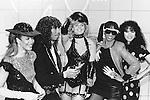 Rick James 1984 with Mary Jane Girls at American Music awards..