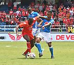 América igualó como local 0-0 ante Millonarios. Fecha 9 Liga Águila II-2017.