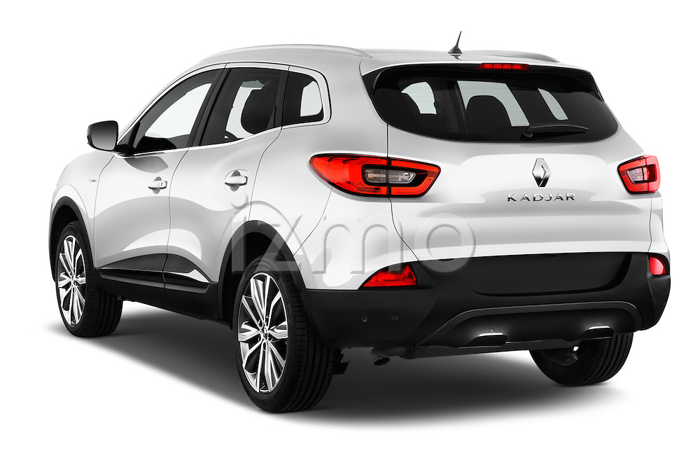 Car pictures of rear three quarter view of 2015 Renault Kadjar Bose Edition 5 Door Suv 2WD Angular Rear