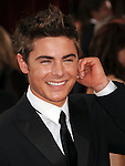 HOLLYWOOD, CA. - March 07: Zac Efron arrives at the 82nd Annual Academy Awards held at the Kodak Theatre on March 7, 2010 in Hollywood, California.