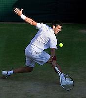 26-6-09, England, London, Wimbledon, 26-6-09, England, London, Wimbledon, Novak Djokovic