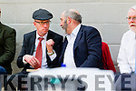 Michael Healy Rae and Danny Healy Rae at the Kerry General Election Count in Killarney.