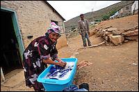 Township Pienarsig, Nieu Bethesda, Great Karoo, SA 2010