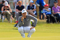 Haydn Porteous (RSA) on the 5th green during Round 1 of the Aberdeen Standard Investments Scottish Open 2019 at The Renaissance Club, North Berwick, Scotland on Thursday 11th July 2019.<br /> Picture:  Thos Caffrey / Golffile<br /> <br /> All photos usage must carry mandatory copyright credit (© Golffile | Thos Caffrey)