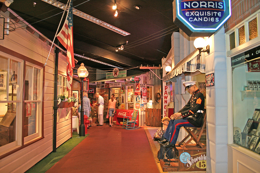 People touring National Museum of Naval Aviation Pensacola Florida