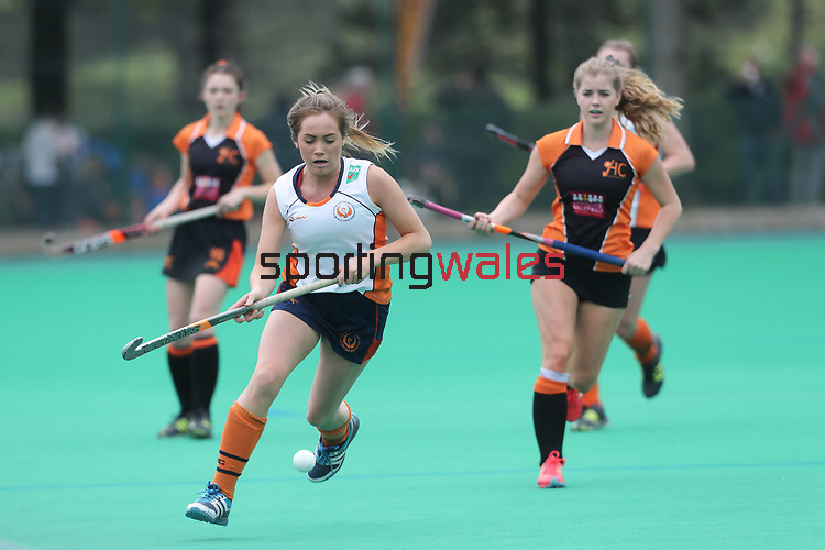 Welsh Youth Hockey Cup Final U18 Girls<br /> Swansea City v Gwent<br /> Swansea University<br /> 06.05.17<br /> ©Steve Pope - Sportingwales