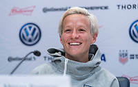 London, ENG - June 5, 2019:  The USWNT held a press conference in preparation for the FIFA Women's World Cup at Hotspur Way Training Ground.