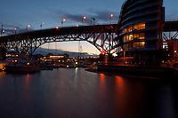 Granville Street bridge. Vancouver,British Colombia, Canada.