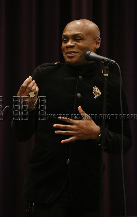 Nathan Lee Graham attend 'The View Upstairs' sneak preview and panel discussion at The LGBT Community Center on February 1, 2017 in New York City.