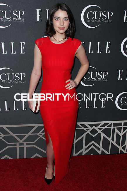 HOLLYWOOD, LOS ANGELES, CA, USA - APRIL 22: Adelaide Kane at the 5th Annual ELLE Women In Music Concert Celebration presented by CUSP by Neiman Marcus held at Avalon on April 22, 2014 in Hollywood, Los Angeles, California, United States. (Photo by Xavier Collin/Celebrity Monitor)