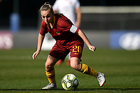 Giada Greggi of AS Roma in action during the Women Italy cup round of 8 second leg match between AS Roma and Roma Calcio Femminile at stadio delle tre fontane, Roma, February 20, 2019 <br /> Foto Andrea Staccioli / Insidefoto