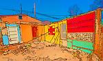Demolition of Old Town shack