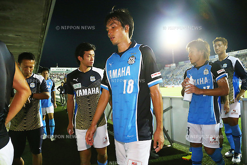 Ryoichi Maeda (Jubilo), <br /> August 24, 2013 - Football / Soccer : <br /> 2013 J.LEAGUE Division 1, 22nd Sec <br /> match between Jubilo Iwata 0-0 F.C.Tokyo <br /> at YAMAHA Stadium, Shizuoka, Japan. <br /> (Photo by Daiju Kitamura/AFLO SPORT) [1045]