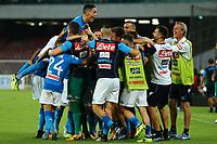 Esultanza Napoli, celebration<br /> Napoli 27-08-2017  Stadio San Paolo <br /> Football Campionato Serie A 2017/2018 <br /> Napoli - Atalanta<br /> Foto Cesare Purini / Insidefoto
