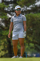 Nasa Hataoka (JPN) watches her tee shot on 3 during round 3 of the 2018 KPMG Women's PGA Championship, Kemper Lakes Golf Club, at Kildeer, Illinois, USA. 6/30/2018.<br /> Picture: Golffile | Ken Murray<br /> <br /> All photo usage must carry mandatory copyright credit (&copy; Golffile | Ken Murray)