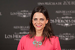Actress Macarena Gomez poses during `Los heroes del mal´ film presentation in Madrid, Spain. September 09, 2015. (ALTERPHOTOS/Victor Blanco)