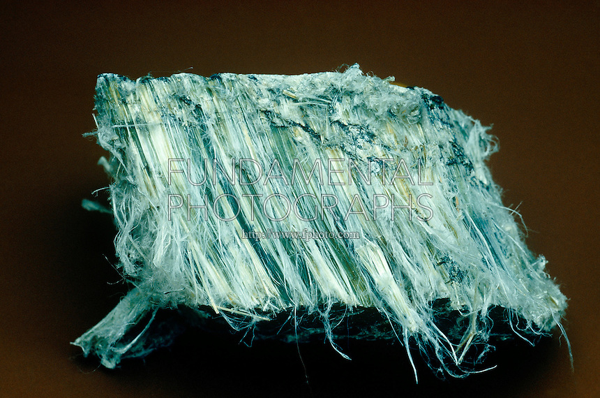ASBESTOS -CHRYSOTILE<br /> Most Common Form of Asbestos.<br /> Chrysotile, also known as white asbestos, is part of the serpentine group and has fine, curly fibers.