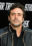 "HOLLYWOOD, CA. - April 30: Jeffrey Dean Morgan arrives at the Los Angeles premiere of ""Star Trek"" at the Grauman's Chinese Theater on April 30, 2009 in Hollywood, California."