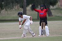 Hornchurch claim the seventh Buckhurst Hill wicket during Hornchurch CC vs Buckhurst Hill CC (batting), Essex Cricket League Cricket at Harrow Lodge Park on 25th July 2020