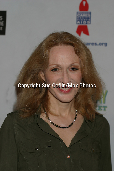 "One Life To Live Jan Maxwell ""Cindy"" and AMC ""Judge Myatt"" at The 26th Annual Broadway Flea Market and Grand Auction to benefit Broadway Cares/Equity Fights Aids on September 23, 2012 in Shubert Alley and Times Square, New York City, New York.  (Photo by Sue Coflin/Max Photos)"