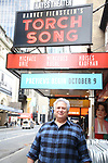 """Harvey Fierstein attends the Broadway cast photo call for """"Torch Song"""" at the Hayes Theatre on September 20, 2018 in New York City."""