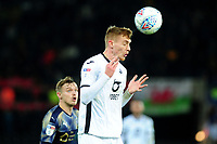 Jay Fulton of Swansea City in action during the Sky Bet Championship match between Swansea City and Barnsley at the Liberty Stadium in Swansea, Wales, UK. Sunday 29 December 2019