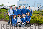 Students from Coláiste Ide & Iosef Abbeyfeale who sat the Leaving Certificate on Wednesday.