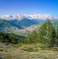 Greece, Epirus, Metsovo: small town in the very east of region Epirus   Griechenland, Epirus, Metsovo: Kleinstadt im Osten der griechischen Region Epirus
