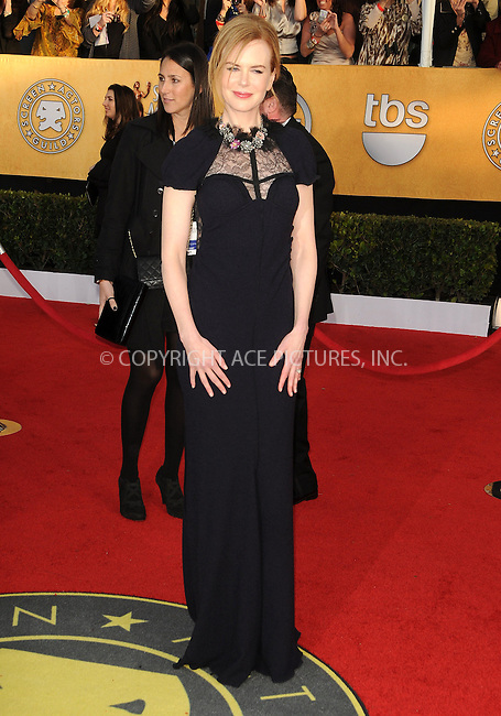WWW.ACEPIXS.COM . . . . . ....January 30 2011, Los Angeles....Nicole Kidman arriving at the 17th Annual Screen Actors Guild Awards held at The Shrine Auditorium on January 30, 2011 in Los Angeles, CA....Please byline: PETER WEST - ACEPIXS.COM....Ace Pictures, Inc:  ..(212) 243-8787 or (646) 679 0430..e-mail: picturedesk@acepixs.com..web: http://www.acepixs.com